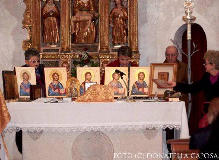 Benedizione delle icone del Cristo Pantocratore