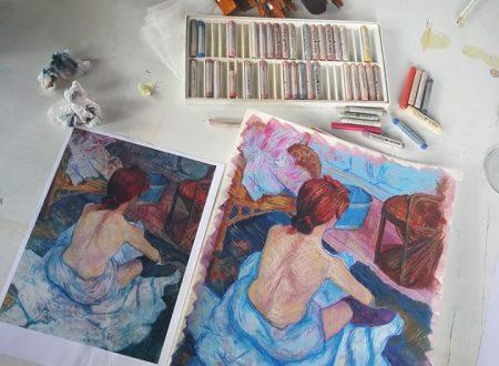 """Workshop """"La toilette"""" di Toulouse Lautrec"""